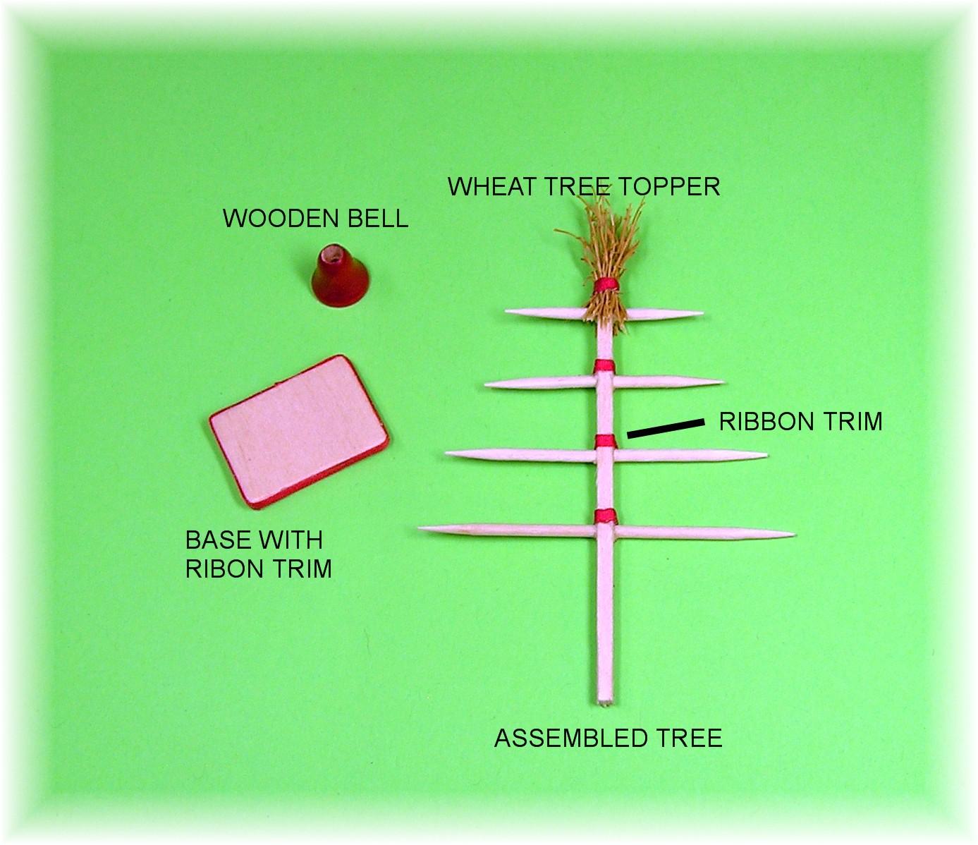 Dollhouse Miniature Ribbon 3 Colors 3 Ft 3mm - Your Choice