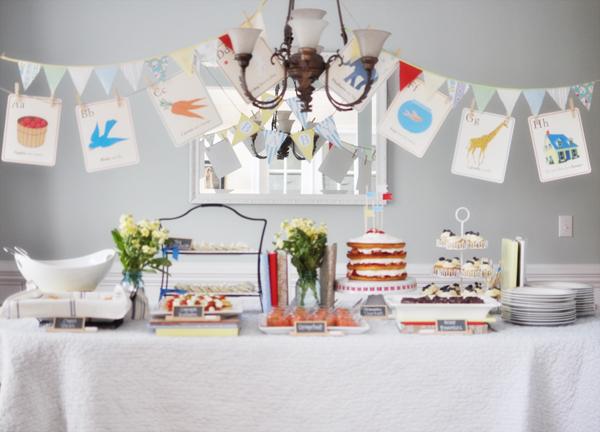 Karas Party Ideas Abc Storybook Baby Shower Karas Party Ideas