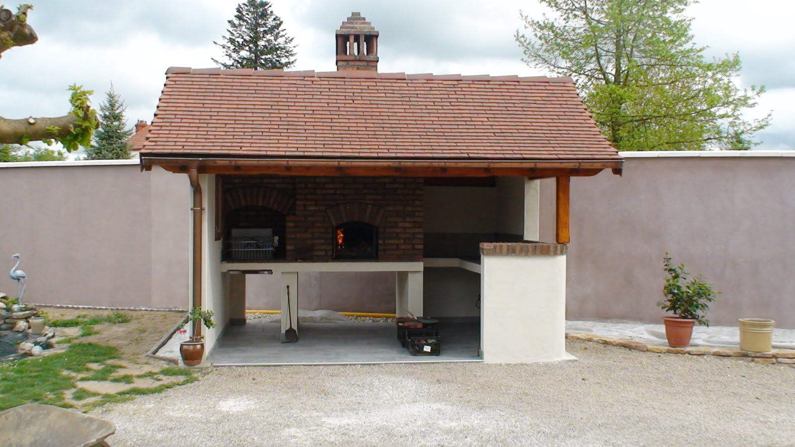 Carrelage exterieur pour barbecue 28 images carrelage for Four barbecue exterieur