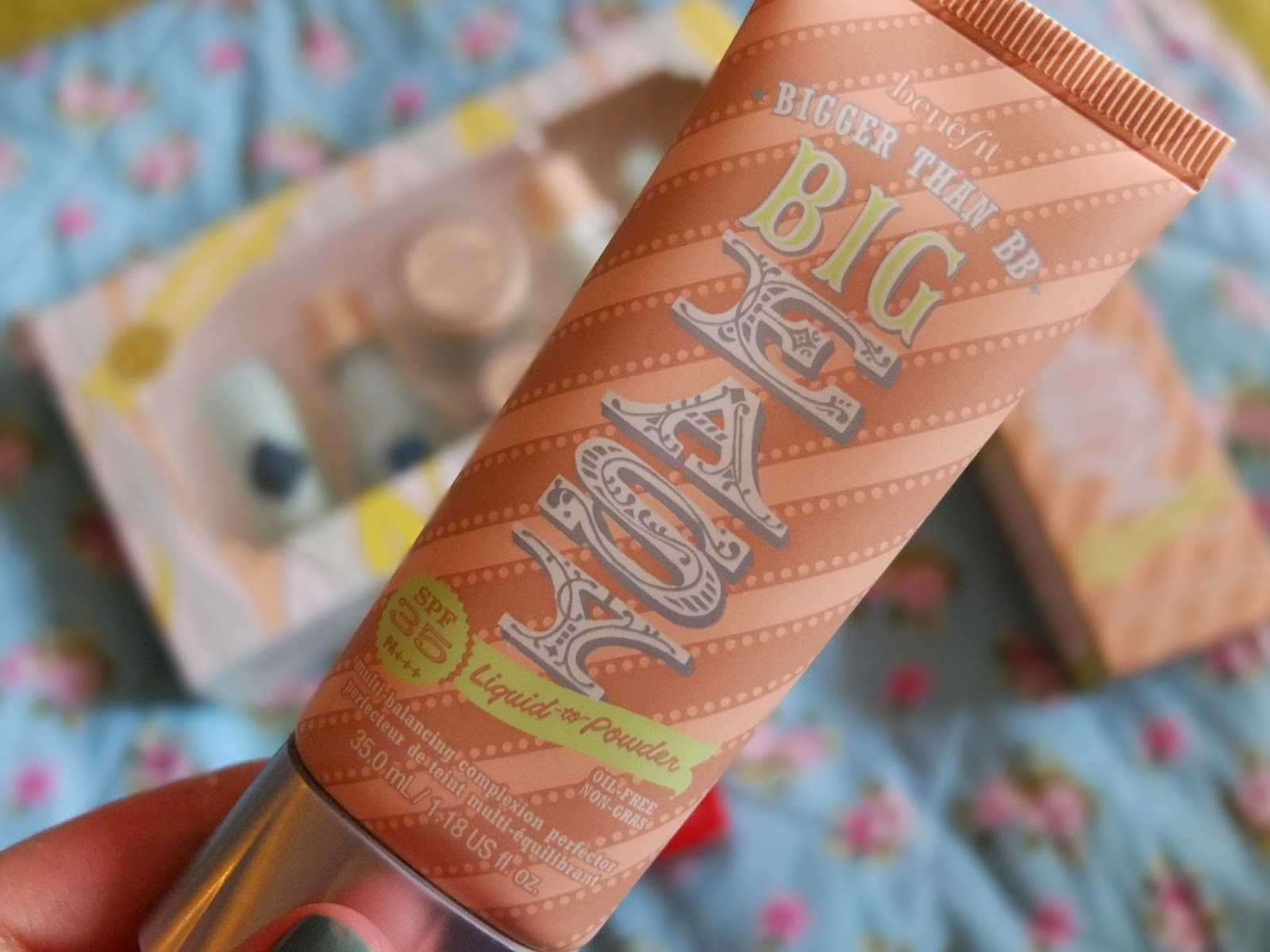 Benefit Big Easy Review on hello terri lowe uk beauty blog