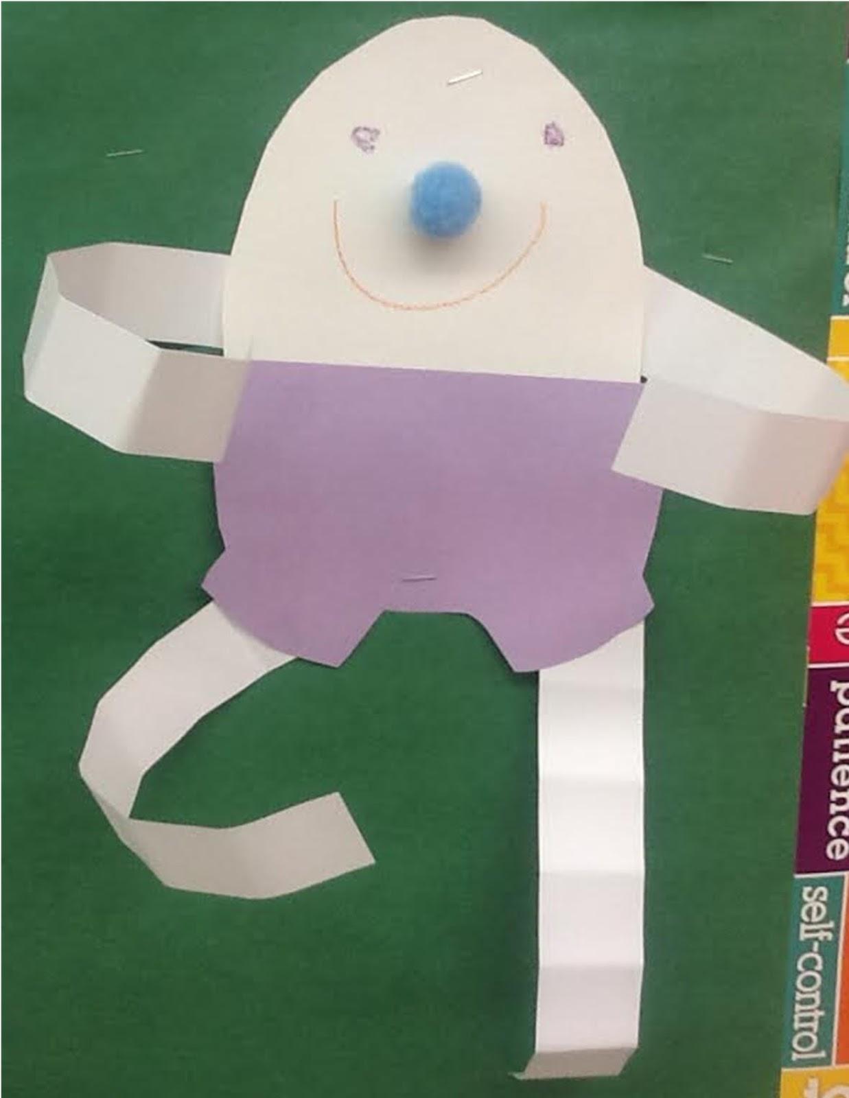 Humpty Dumpty Craft For Pre K