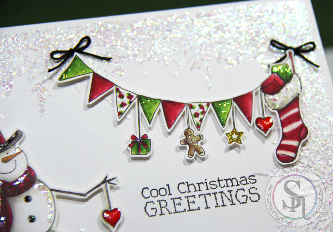 Stamp Scents Cool Christmas Greetings