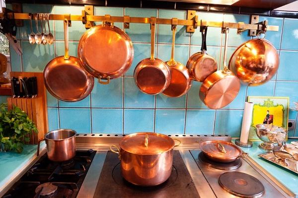 Decoração com cobre
