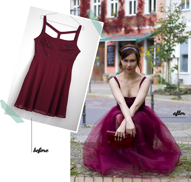 DIY Tulle Dress {via www.fashionrolla.com}
