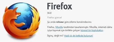 Firefox 16 (Türkce)