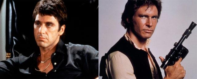 Al Pacino como Han Solo (Star Wars)