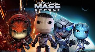 littlebigplanet mass effect costumes LittleBigPlanet DLC Updates   Mass Effect Costumes Releasing This Week