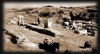 اكتشاف مقابر لمدينة النصر البيزنطية وهياكل عظمية