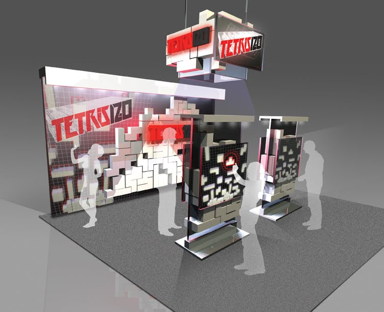 Trade Show Booth Game Ideas : Andy mora illustration design: trade show booth design