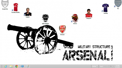 2013 Arsenal Fc Theme Support In Windows 8