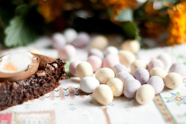 creme, egg, brownies, recipe, baking, easter, lifestyle, blog, blogger, uk