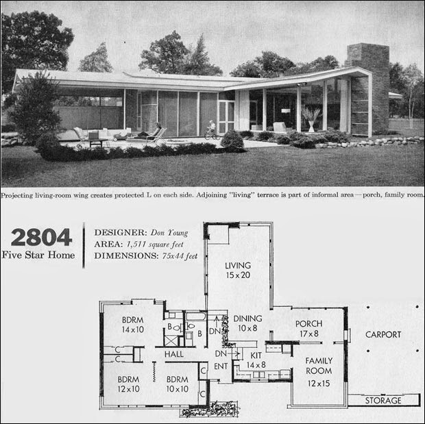 Mid Century Modern House Plans For Pleasure Ayanahouse