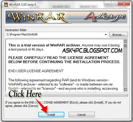 winrar ask4pc