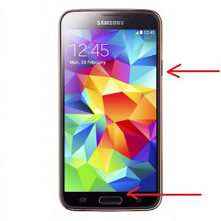 Cara Cepat Screen Capture di HP Samsung Galaxy S5