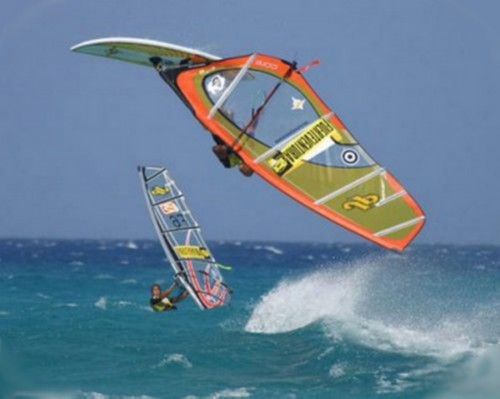 Accidentes deportivos - Windsurf