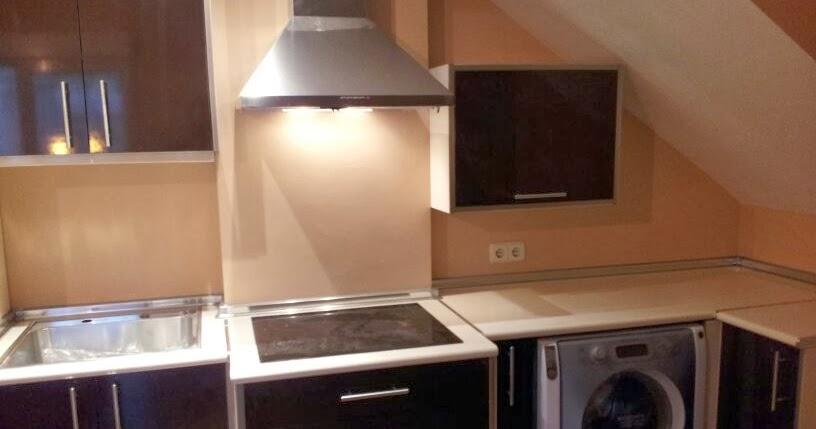 Cocinas baratas a precio de f brica cocina en alto brillo chocolate y crema - Cocinas baratas a precio de fabrica ...