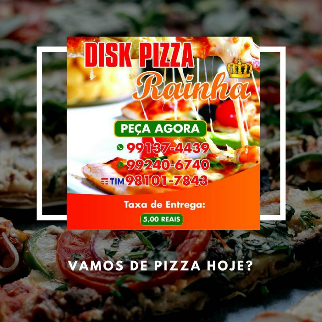 Disk pizza rainha delivery