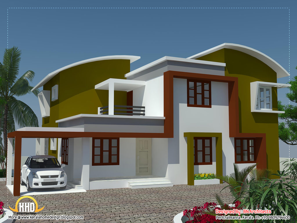 Modern minimalist house in kerala 2370 sq ft kerala for Modern minimalist house design