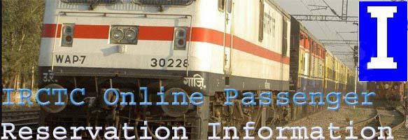 IRCTC Online Reservation Information
