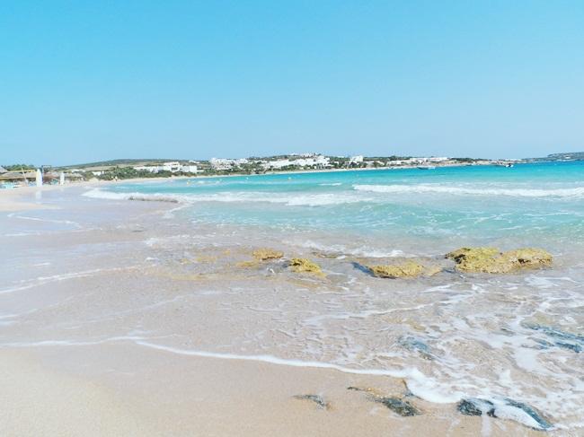 Santa Maria beach,Paros,Greece.Best beaches in Paros.Najbolje plaze Parosa.Santa Maria plaza.Where to go in Paros.Water sports in Paros.Paros travel guide.