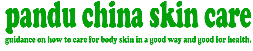 pandu china skin care