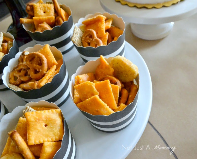 March Madness Basketball Party snacks