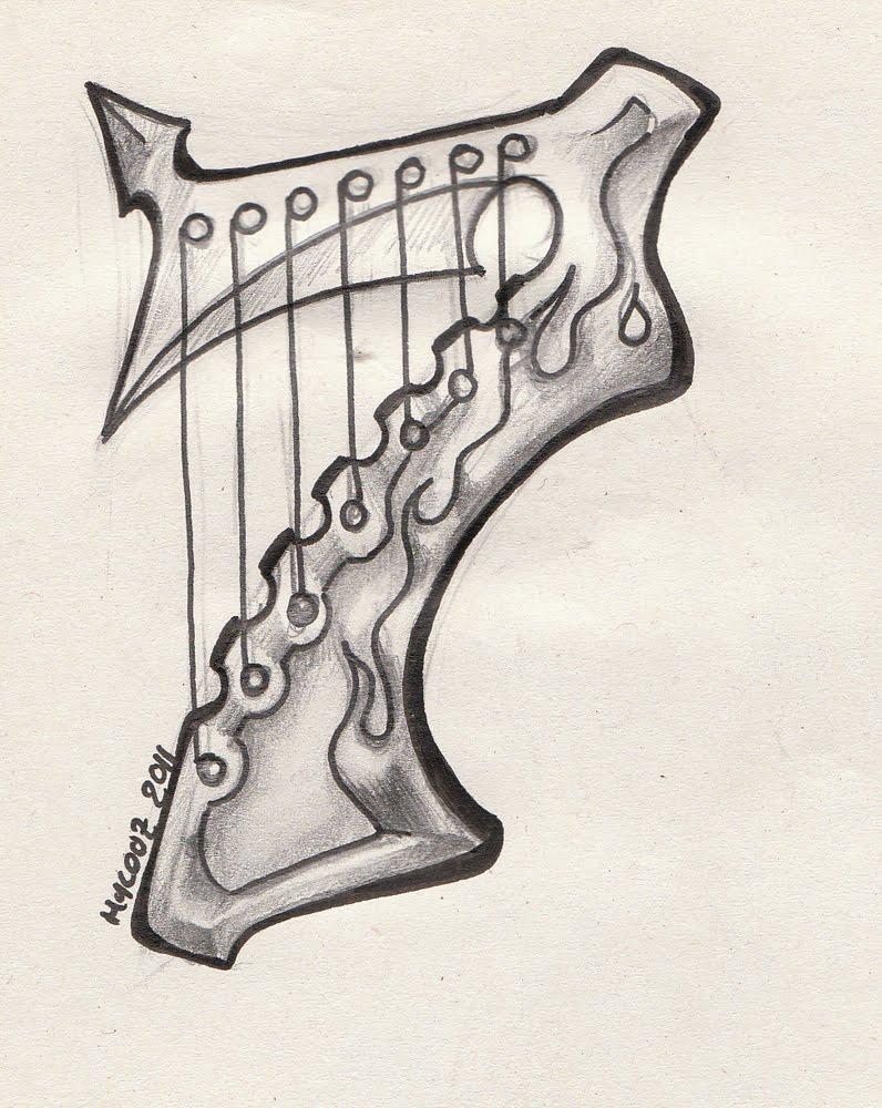 du chiffre 7 et de la guitare a sept cordes