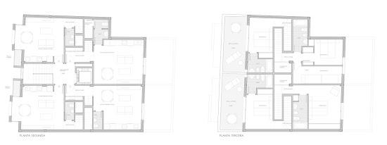 V+M Arquitectos Valencia Proyecto Viviendas