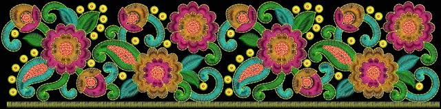 pizzo bordo colorato di 3 mm Punto lavoro lustrini