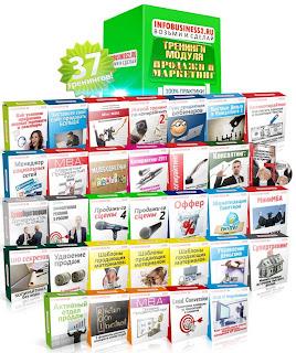 Комплект тренингов по продажам и маркетингу от Андрея Парабеллума со скидкой.