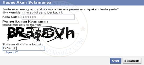 Hapus Akun Facebook Saya 2 - www.divaizz.com