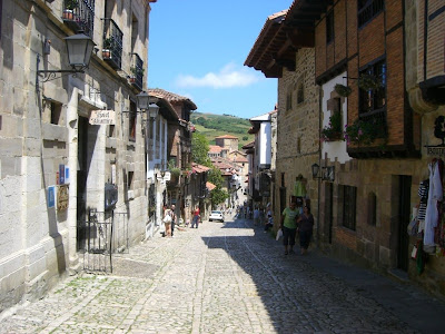 Main Street in Santillana del Mar