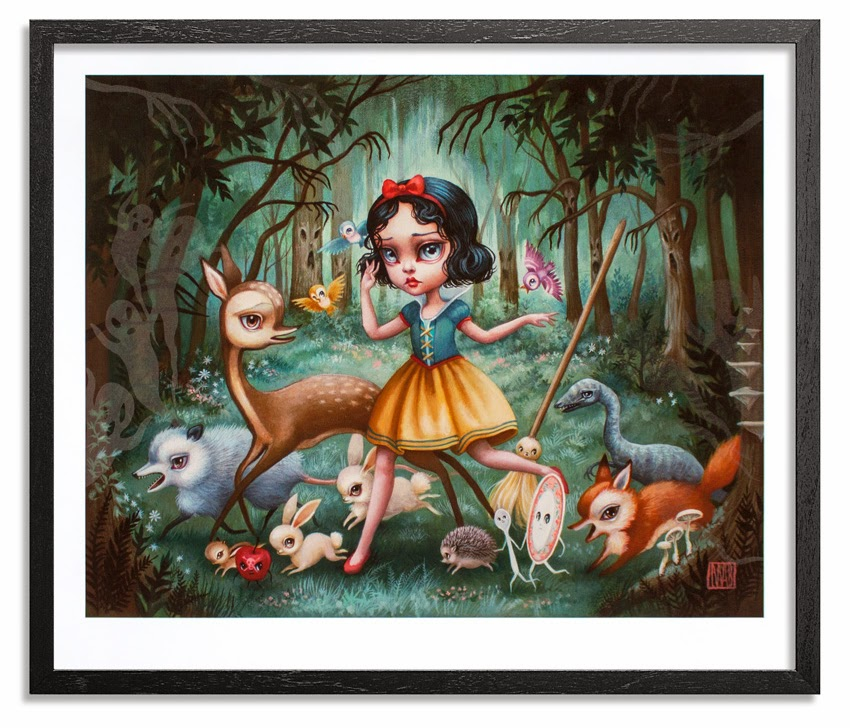Inside The Rock Poster Frame Blog Mab Graves Snow White In The