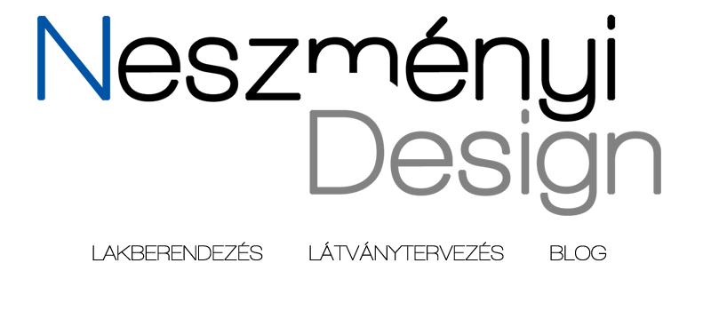 Neszményi Design - Neszményi Lilla lakberendező és látványtervező blogja