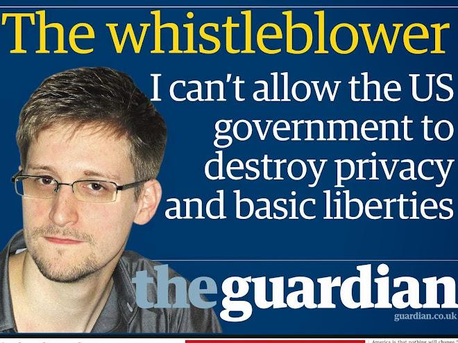 edwar snowden un heroe mundial porque tuvo la valentía de denunciar el espionaje mundial de ee.uu