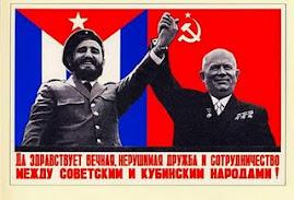 Salvem a eterna e indestrutível amizade e companheirismo entre os povos soviético e cubano.