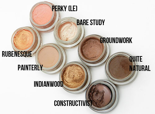 Mac Neutral Paint Pot Colors