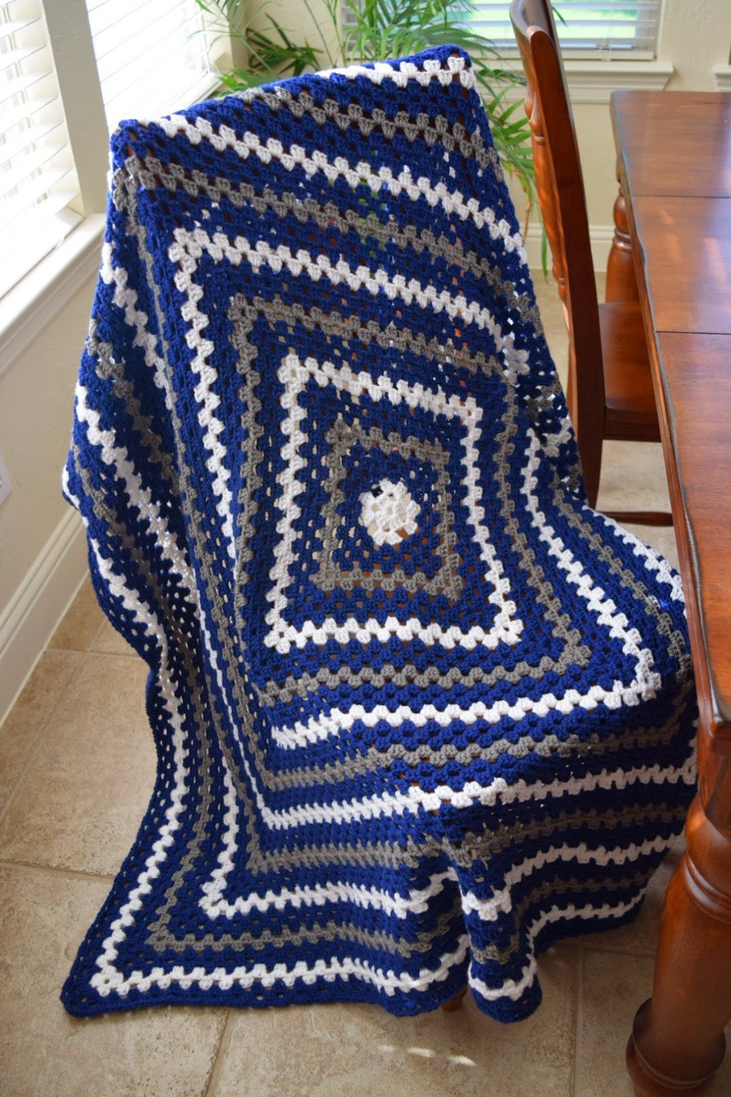 All Things Chateau de Savoy: Crochet Granny Square Lap ...