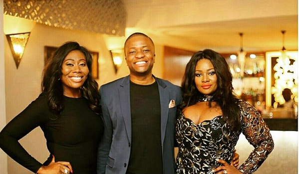 More fab photos from Toolz and Tunde Demuren's pre-wedding party