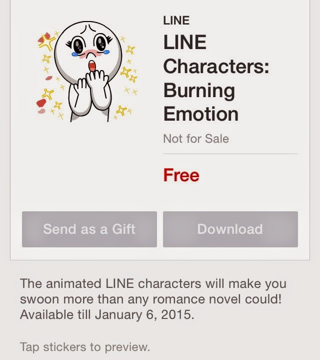 LINE Characters: Burning Emotion