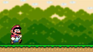 Super Mario retro pixel wallpaper