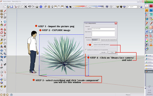 sketchup tips how to use png image