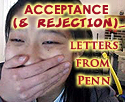 UPenn Acceptance Letters