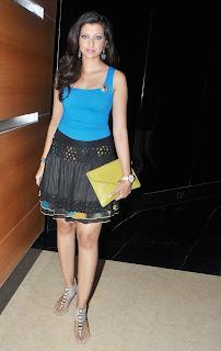 Hamsa Nandini Spotted at Blenders Pride Party wearing Mini Skirt Spicy Hamsa Nandini