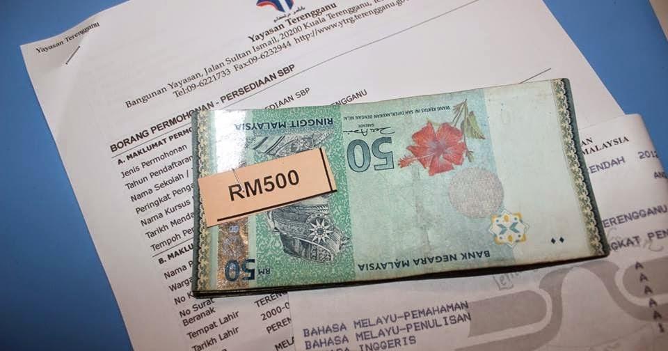 Anirah Azuri Blog Seo Dan Personal Malaysia Permohonan Bantuan Persedian Ke Sbp Dan Ipta Ipts Matrik Anak Terengganu
