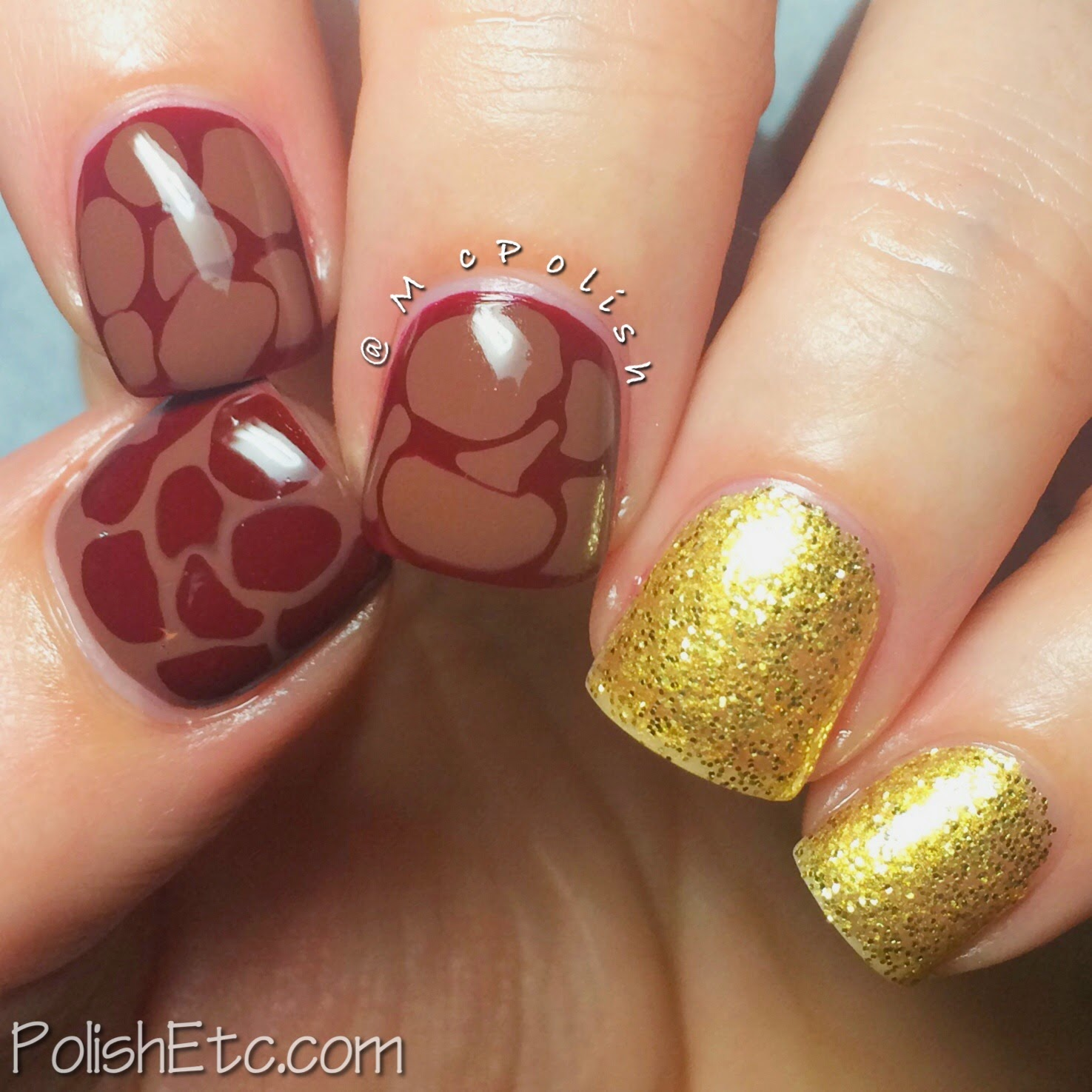 31 Day Nail Art Challenge -#31dc2014 - McPolish - TUTORIAL