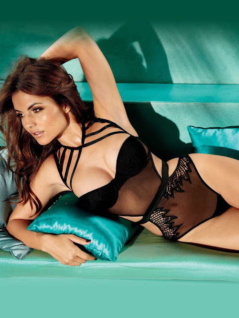 "Diana Morales – ""Fredericks of Hollywood"" Lingerie"