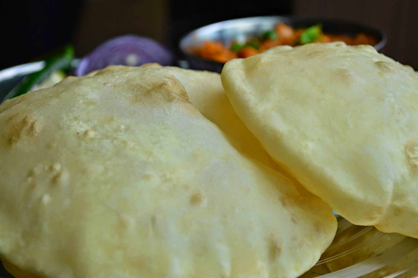 Cholle bhature/ Bhatura Recipe/ Bhatura