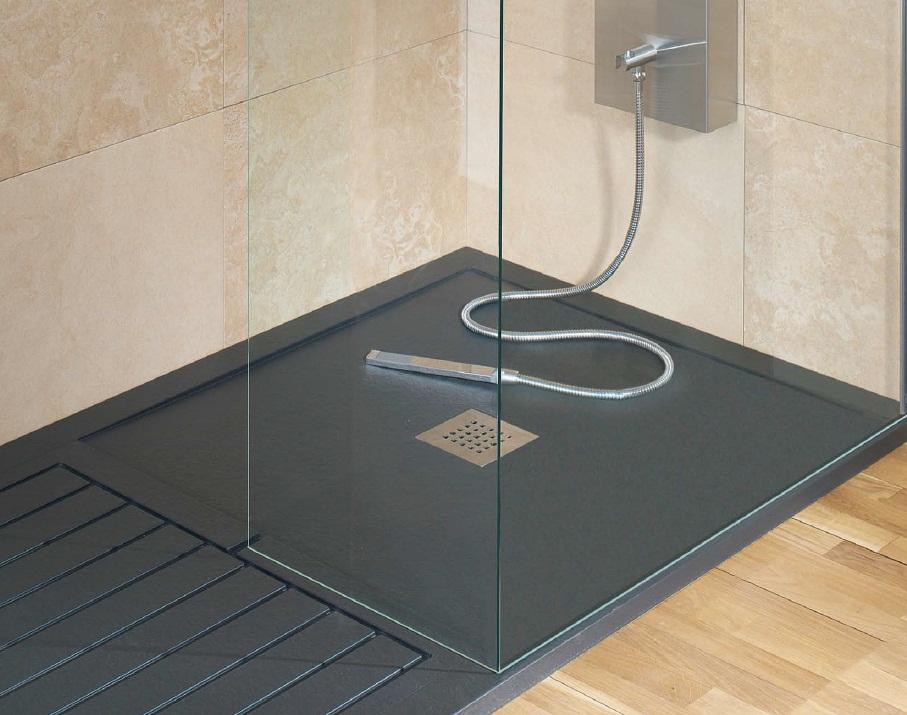 Decoracional platos de ducha de resina for Instalar plato ducha resina
