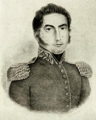 General don José María Paz, litografía (1829) tomada de www.historiaparroquias.com.ar